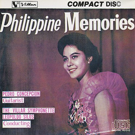 Pedro Concepcion   Pedro Concepcion  Vol  1 Philippine Memories  Cd
