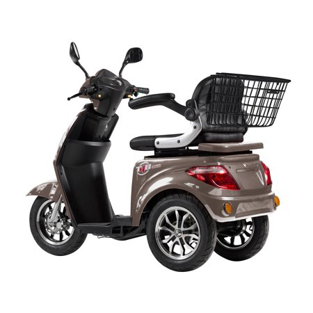 T4B LU-500W Mobility Electric Recreational Outdoors Scooter 48V20AH with Three Speeds, 14/22/32kmph - Brown - image 2 de 14