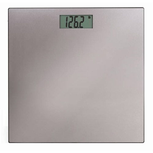Precision One 7832 Precision One Stainless Steel On Glass LCD Digitial Scale