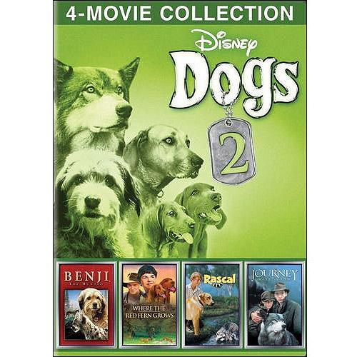 Disney Dogs, Volume 2: The Journey Of Natty Gann / Rascal / Benji The Hunted / Where The Red Fern Grows