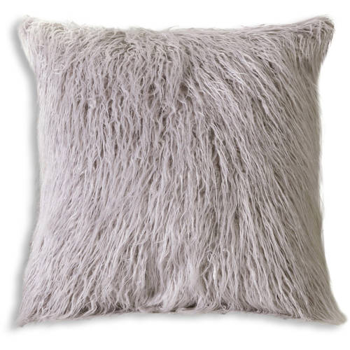 Mongolian fur pillows Ombre This Button Opens Dialog That Displays Additional Images For This Product With The Option To Zoom In Or Out Walmart Frisco Mongolian Sheepskin Faux Fur Pillow 20