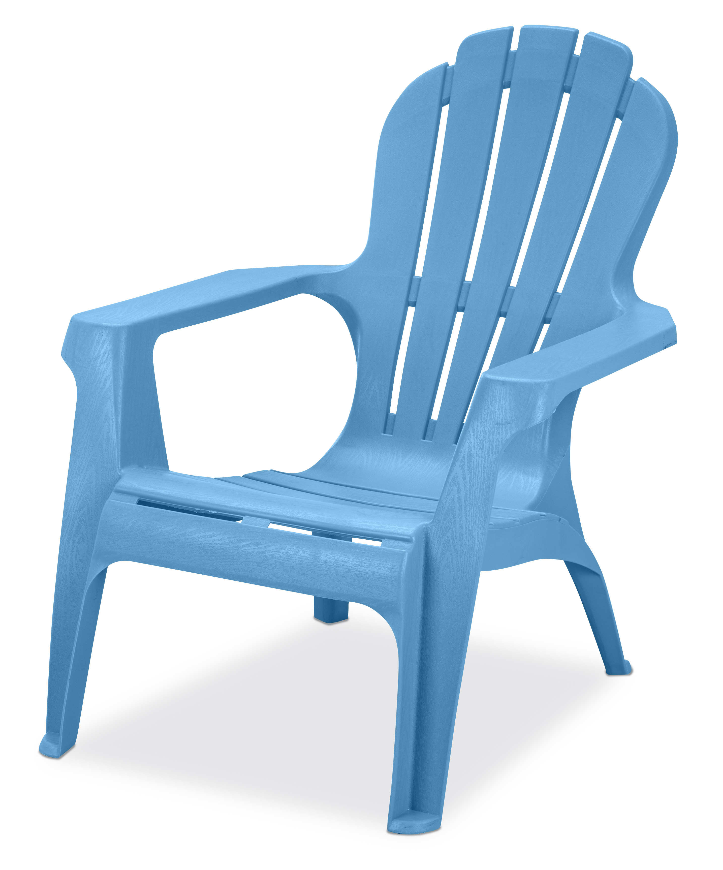 US Leisure Resin Adirondack Chair   Plastic Patio Furniture, Blue