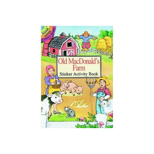 Old MacDonald's Farm Sticker Activity Book by