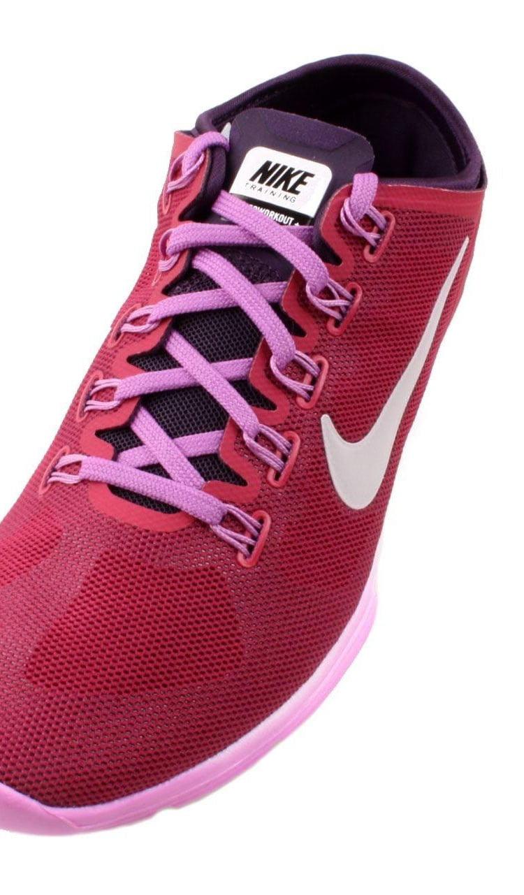 Nike Womens Lunar Hyper Workout Xt+ Running Shoes Red