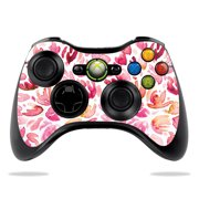 Skin Decal Wrap for Microsoft Xbox 360 Controller Pink Petals