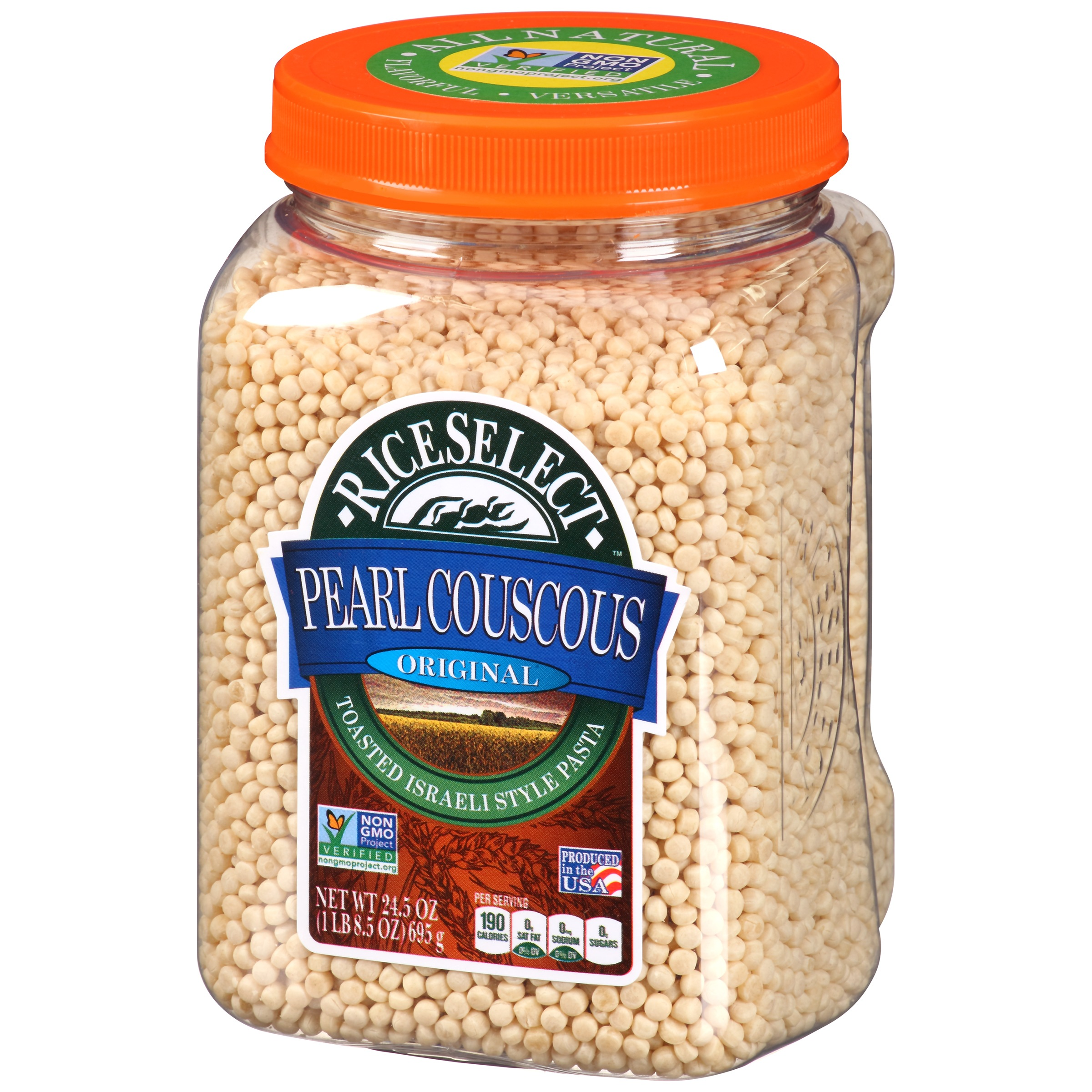 Riceselect Original Pearl Couscous 24 5 Oz Walmart Com Walmart Com