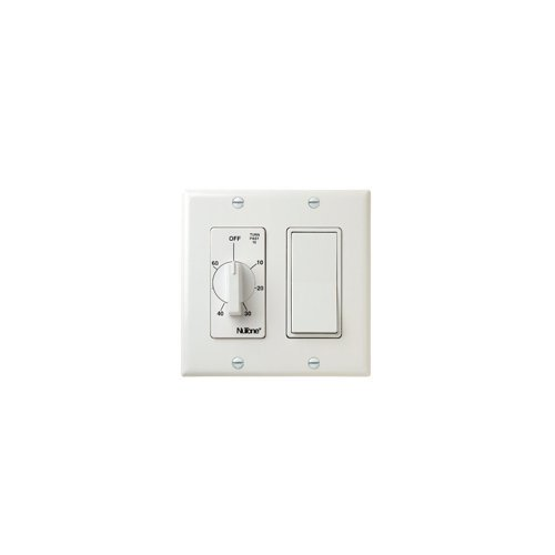 Broan Nutone 60 Min. Timer 1 On Off Switch (White) by Nutone