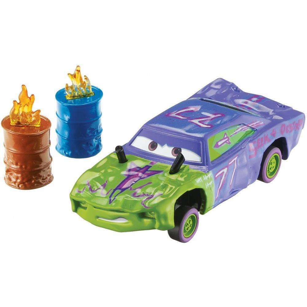 Disney/Pixar Cars 3 Crazy 8 Die-cast Liability with Accessory