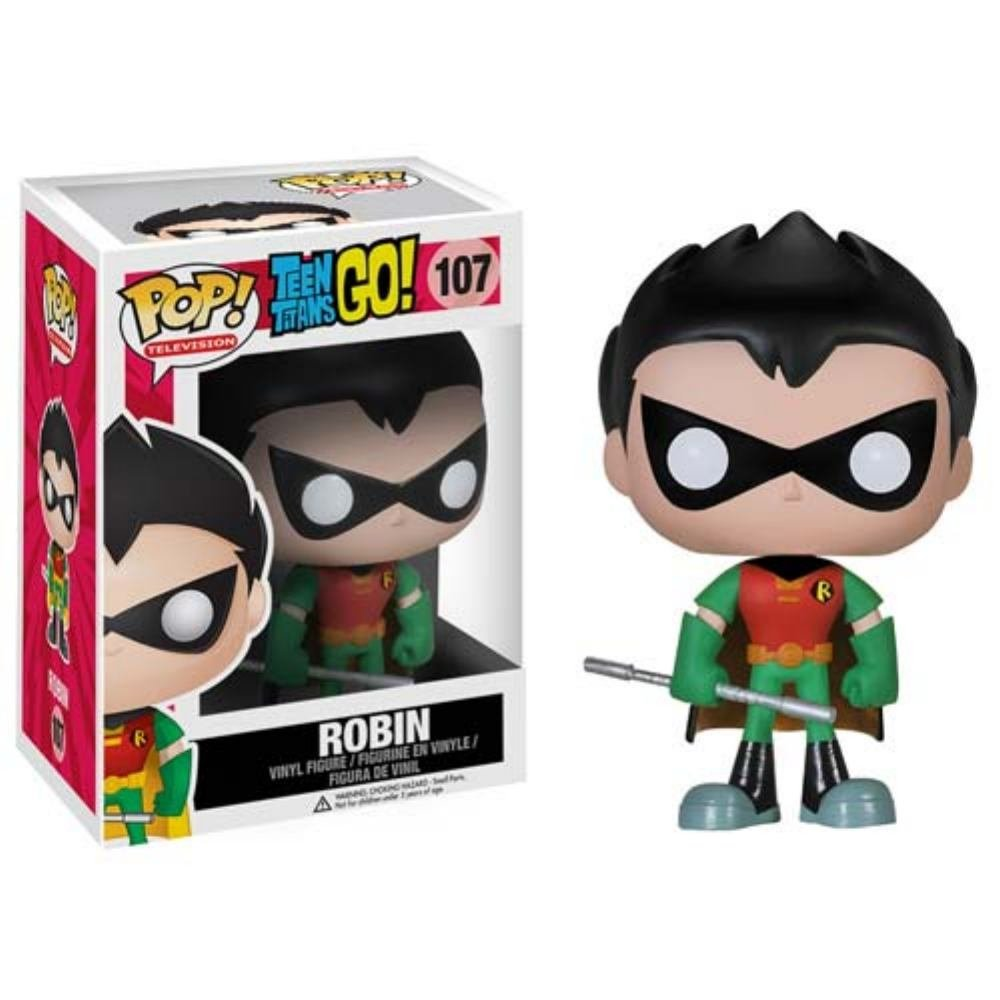 Funko POP TV: Teen Titans Go! - Robin Action Figure
