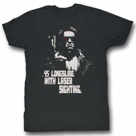 Terminator Movies Longslide Adult Short Sleeve T Shirt (Terminator Costumes For Adults)