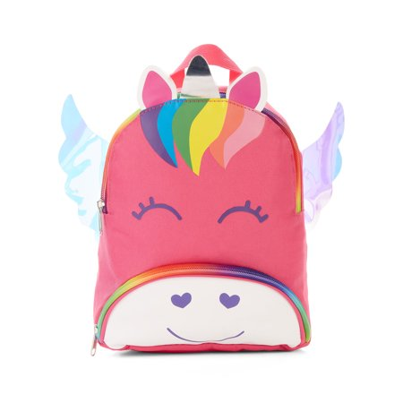 Carried Away Girls Hot Pink Unicorn Backpack With