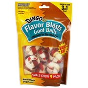 Dingo Flvr Blast Goof Ball, 9 Count