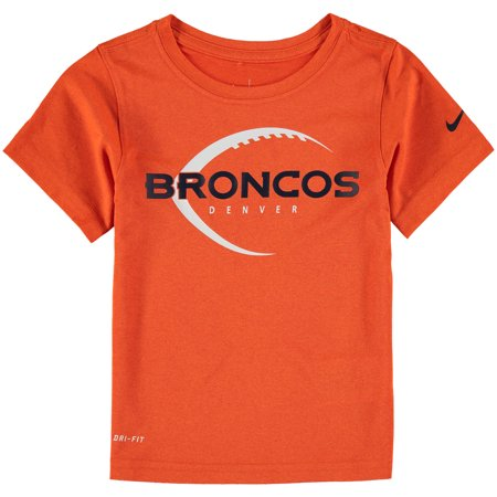 Denver Broncos Nike Preschool Legend Icon Performance T-Shirt - Orange - 7