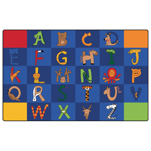"A to Z Animals Rug 7'6"" x 12'"