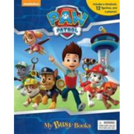 Anderson Paw Patrol My Busy Book