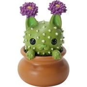 """Ebros Cattus The Cat That Transform Into A Cactus Plant Small 2.25"""" Tall Figurine Collectible Statue"""
