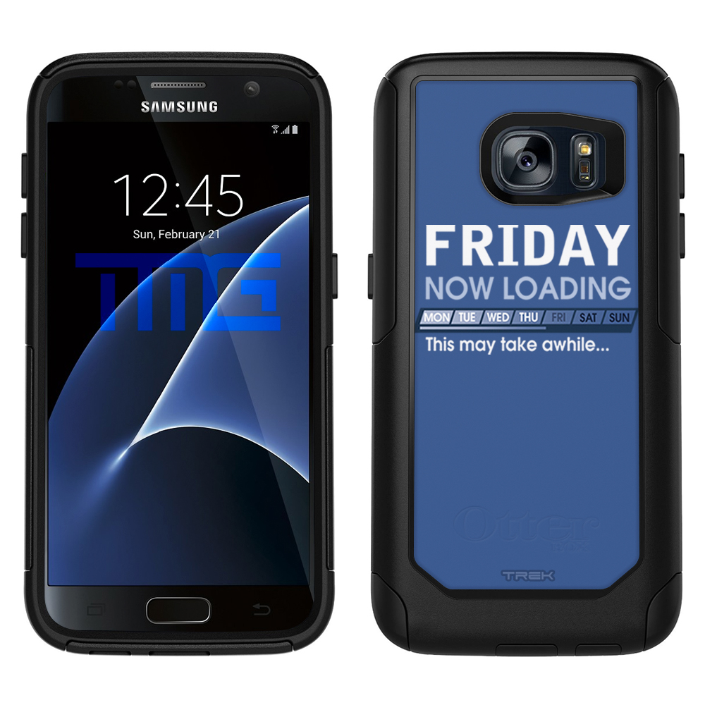 SKIN DECAL FOR OtterBox Commuter Samsung Galaxy S7 Case - Friday Progress Bar DECAL, NOT A CASE