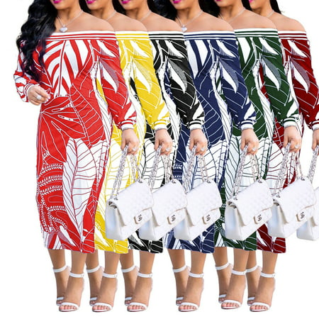 Women's Fashion Design Traditional African Clothing Print Dashiki Nice Neck African Dresses (Womens Dashiki)