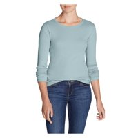 Eddie Bauer Women's Favorite Long-Sleeve Crewneck T-Shirt Plus