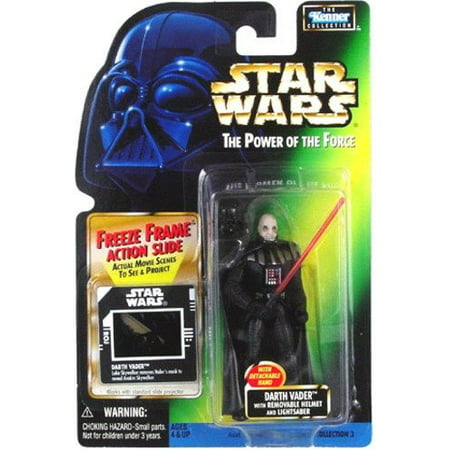 Darth Vader Action Figure Removable Helmet Star Wars