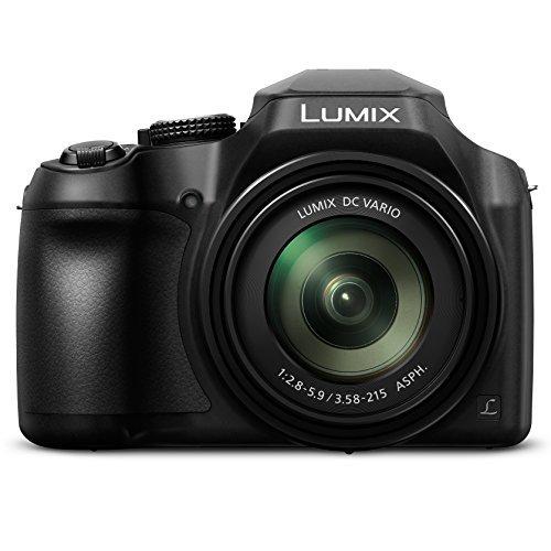 PANASONIC LUMIX FZ80 4K Digital Camera, 18.1 Megapixel Video Camera, 60X Zoom DC VARIO 20-1200mm Lens, F2.8-5.9 Aperture