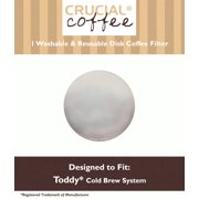Reusable Disk Filter Fits Toddy Cold Brew Coffee Makers & T2N Model