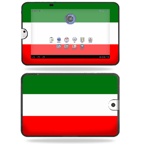 Mightyskins Protective Vinyl Skin Decal Cover for Toshiba Thrive 10.1 Android Tablet wrap sticker skins Italian Flag