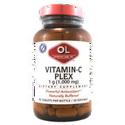 Olympian Labs Vitamin-C Plex Dietary Supplement, 1,000mg, 90 count