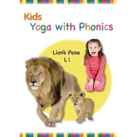 Kids Yoga with Phonics DVD (New 2011) ABC, Alphabet Video, Letters, 26 Fun Poses, Kids
