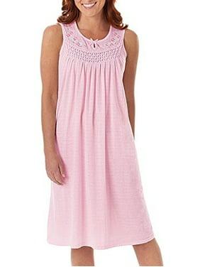 Women's Cotton Sleeveless Nightgown By EZI