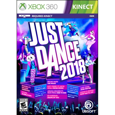 Just Dance 2018, Ubisoft, Xbox 360, 887256028275 (Best Xbox Party Games)