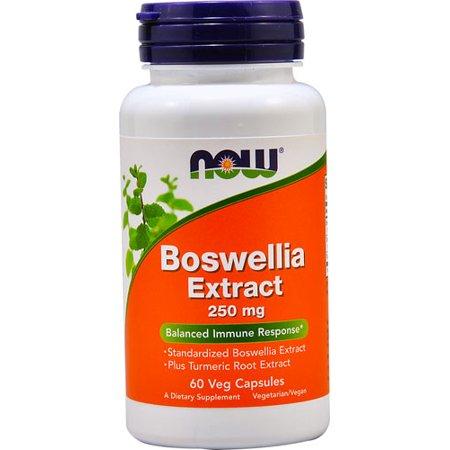 Now Foods - Boswellia Extract 250 mg 60 caps 250 Caps Now Foods