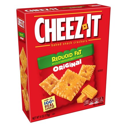 Cheez It Reduced Fat - Cheez-it Baked Snack Crackers, Reduced Fat, 7 oz