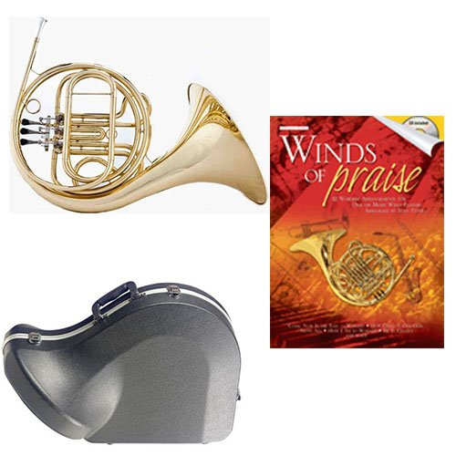 Band Directors Choice Single French Horn in F Winds of Praise Pack; Includes Student... by Band Directors Choice