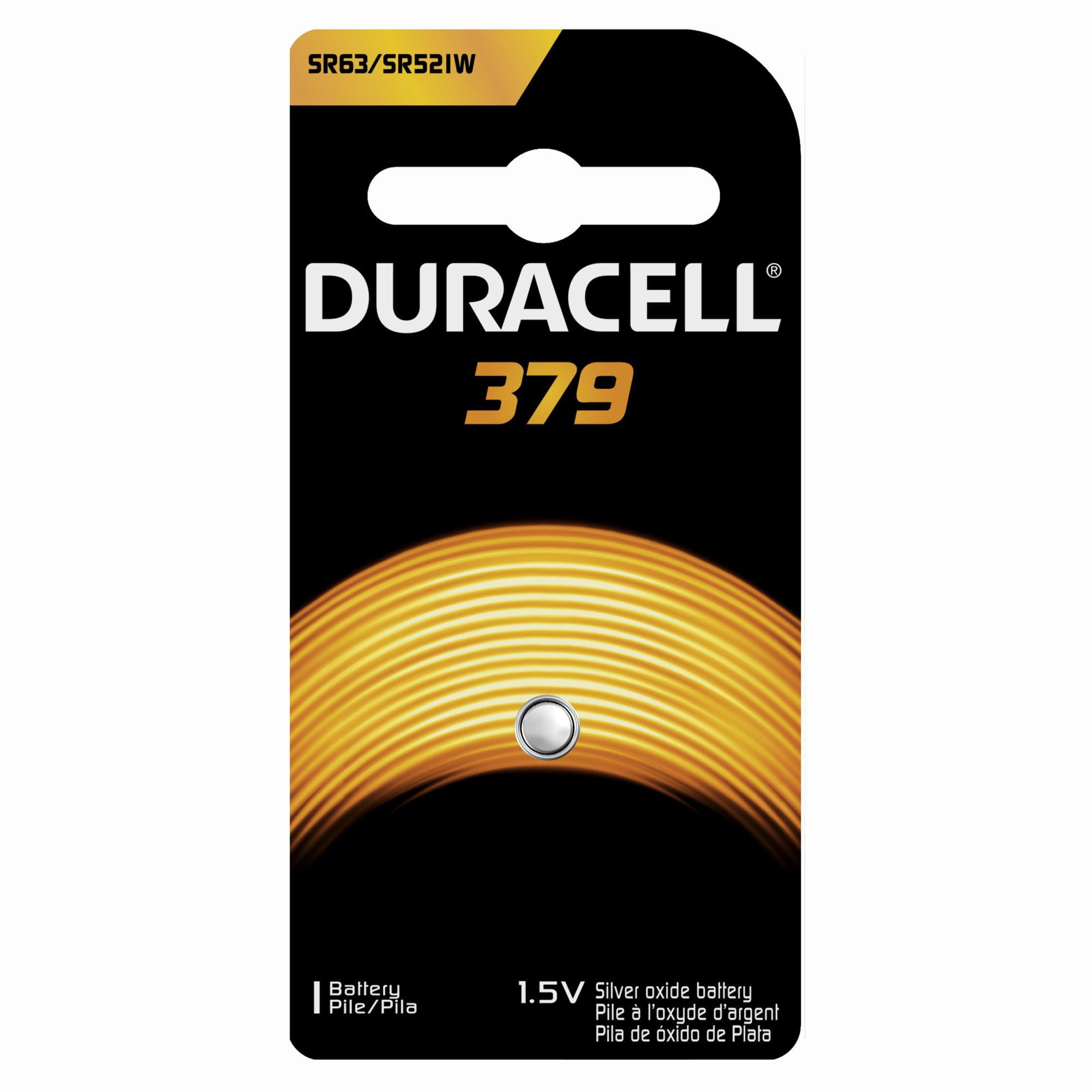 Duracell Silver Oxide Button 379