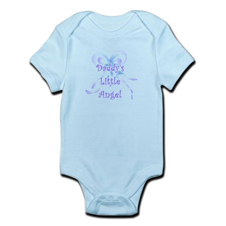 CafePress - Daddy's Little Angel Infant Creeper - Baby Light (Angel Onesie)