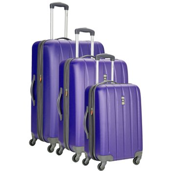 Delsey Luggage Volume Dlx Hardside 3-Pc Nested Luggage Set