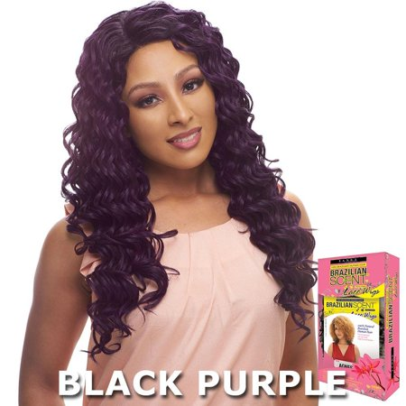 Janet Brazilian Scent Human Hair Blend Lace Front Wig - EMILY (Best Lace Wig Websites)