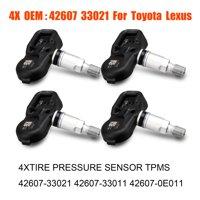 EEEkit 4x TIRE PRESSURE SENSOR TPMS 4260733021 4260733011 426070E011 Fit for Toyota 4Runner Camry Corolla FJ Cruiser Highlander Land Cruiser Lexus CT200h ES350 GS350 GS460
