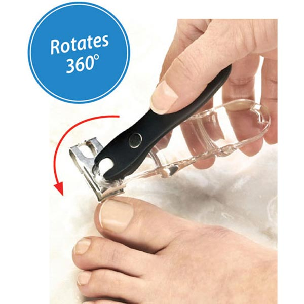 Rotating Nail Clipper
