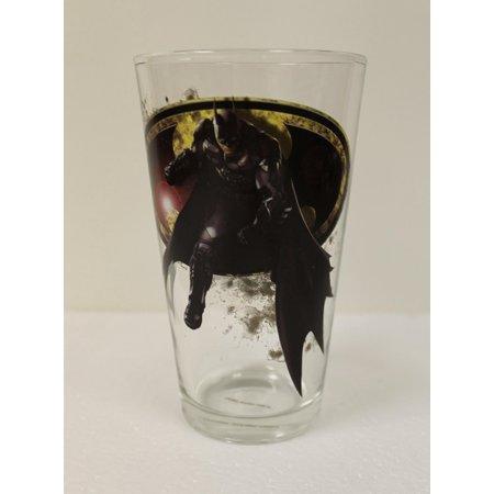 Pint Glass - Arkham - Batman Toon Tumbler 16oz Cup New Toys TTAA002