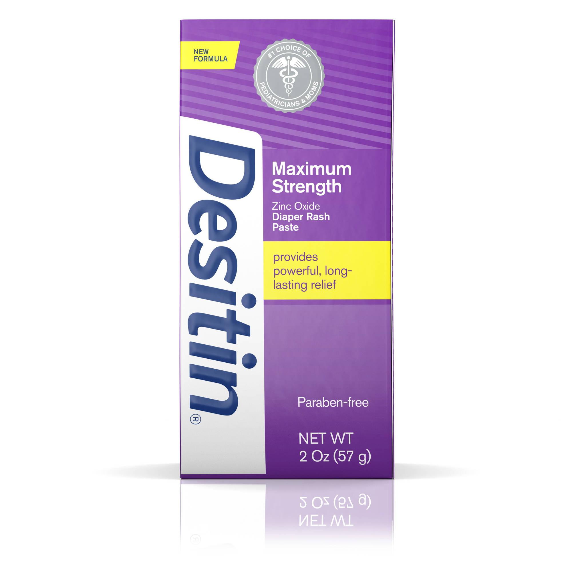 Desitin Maximum Strength Original Paste, 2 Oz