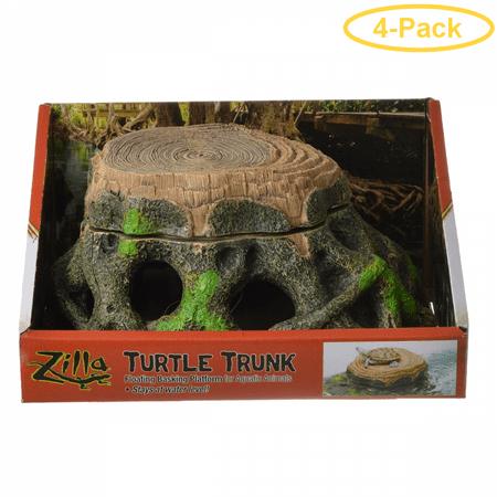 Zilla Freestanding Floating Basking Platform - Turtle Trunk 1 Pack - (11.75L x 9.5W x 5.25H) - Pack of -