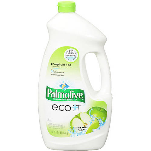 Palmolive ECO Dishwasher Liquid Detergent Citrus Apple Splash,  75 oz