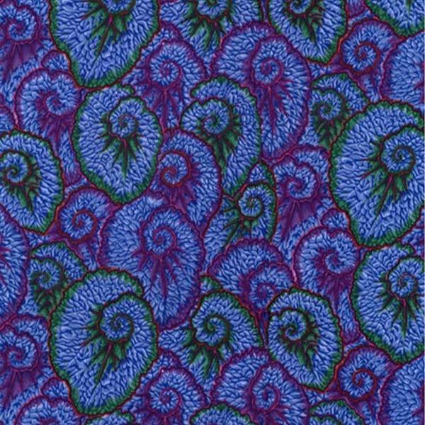 Free Spirit Fabrics Kaffe Fasset Fabrics Spring 2017 Collective Blue Curlique