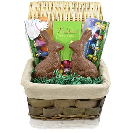 Gift universe easter gift basket with madelaine sitting rabbit gift universe easter gift basket with madelaine sitting rabbit madelaine milk chocolate easter egg negle Gallery