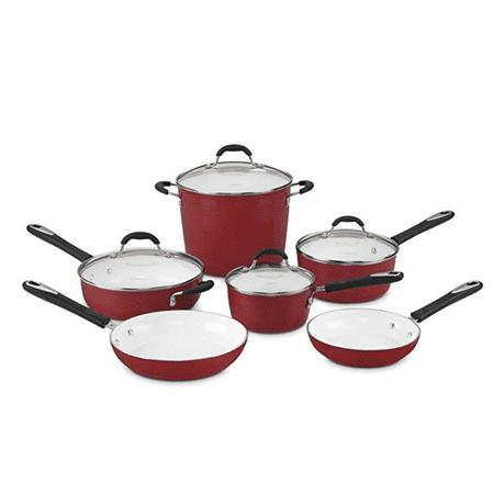 Cuisinart Elements Non-Stick 10 Piece Cookware Set