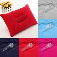 Ultralight Portable Travel Pillow Inflatable Outdoor Camping Soft Head Rest Cushion 9.45''x13.58''