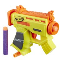 Fortnite Micro AR-L Nerf MicroShots Dart-Firing Toy Blaster and 2 Official Nerf Elite Darts
