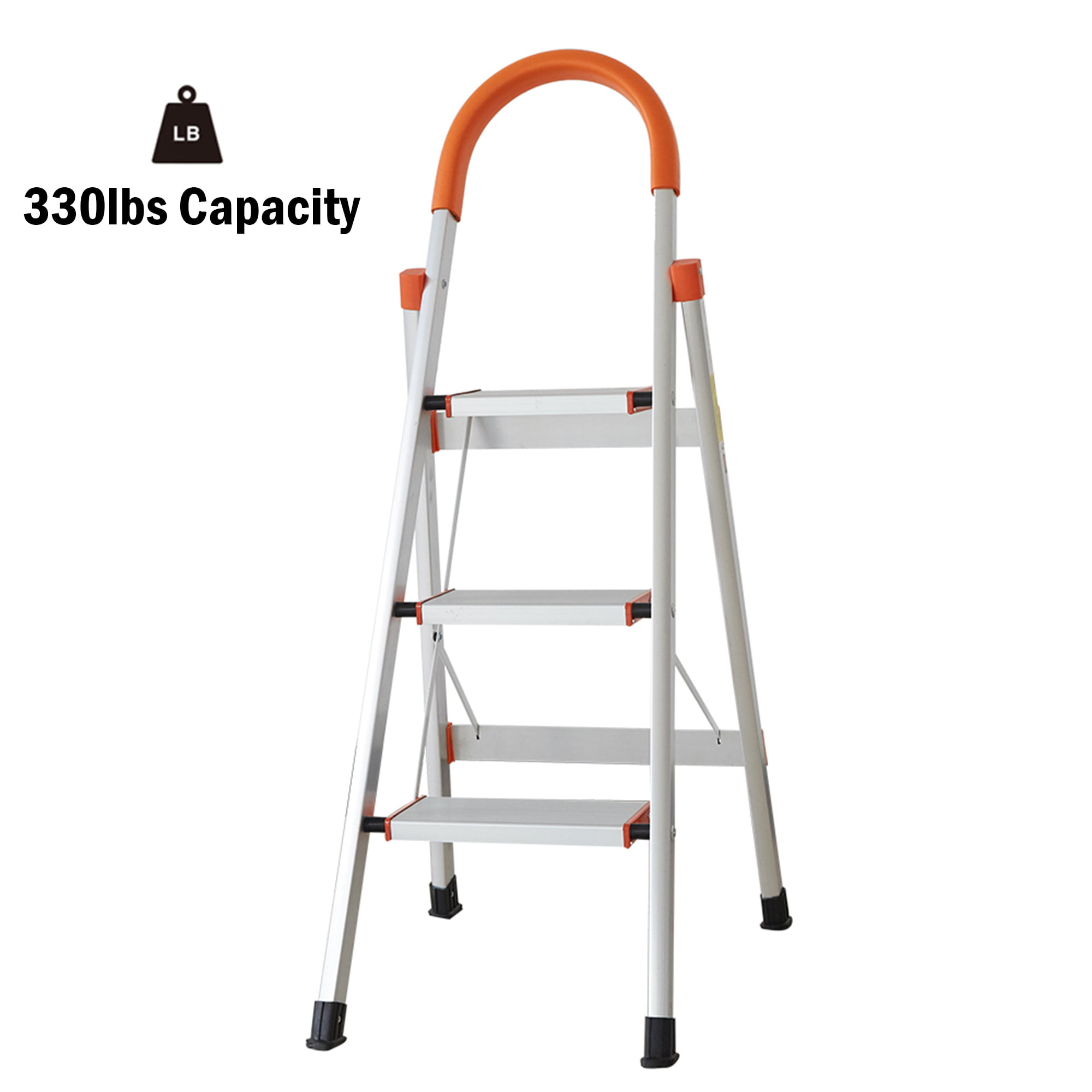 Aluminium Platform Step Ladder 2 3 4 5 8 Step Stepladder DIY Tools Lightweight